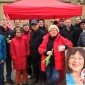 Am Infostand in Bad Bergzabern herrschte allerbeste Stimmung. Foto: red