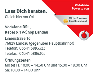 Vodafone DSL Kabel TV Shop Landau