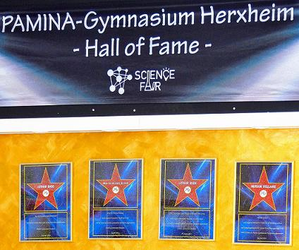 Science Fair Herxheim Hall of Fame_2xBade+Buback+Bellaire