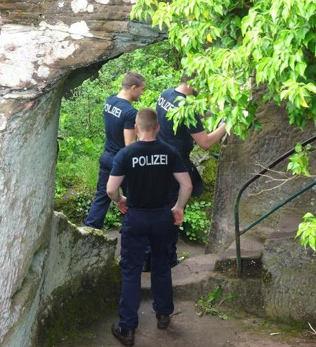 Polizeimeisteranwärter Bundespolizei, Bad Bergzabern, Training - 2