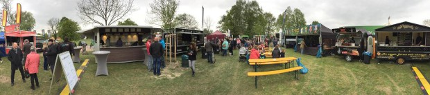 Food-Truck-Festival in Germersheim 2017. Foto: Pfalz-Express
