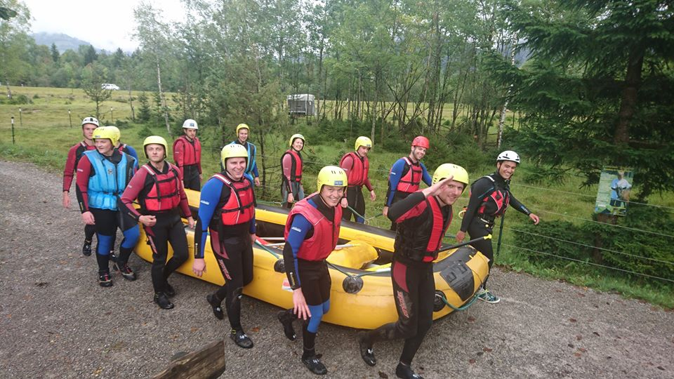 Verbandsjugendorchester Germersheim - Rafting
