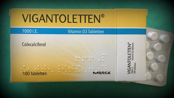 Vitamin D Tabletten Foto: Pfalz-Express