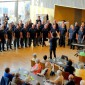 Männerchor Wörth in Aktion. Foto. v. privat