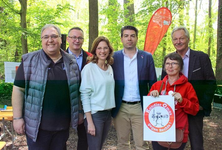 Sabine Bätzing-Lichtenthäler Hitschler Tielebörger DGB Omas gegen Rechts