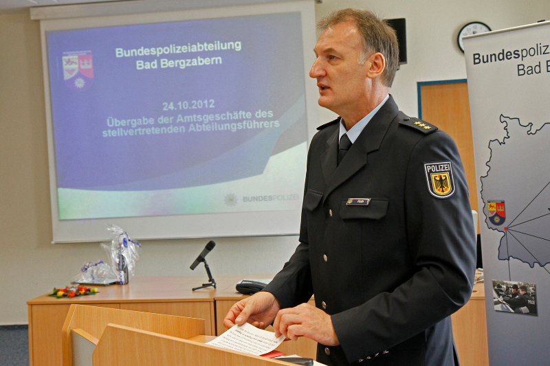 Polizeidirektor Hans-Josef Roth