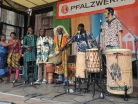 Brunnenfest Hagenbach - Mayi African mit ihren Trommeln