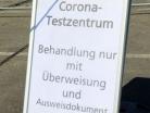 Bundeswehr aus Germersheim unterstützt Corona-Teststation - 6