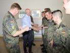 Bundeswehr Südpfalz-Kaserne ZAW Kommandeur, Ausbildungsleiter,Zeugnisausgabe