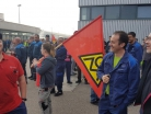 IG Metall, Betriebsrat Daimler Wörth, Protest - 2