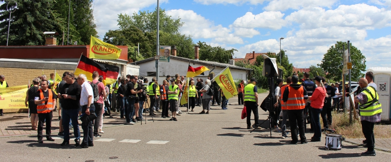 Demo Herxheim Frauenbündnis Kandel