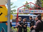 Demo Herxheim Frauenbündnis Kandel  - Kurz - Polizei