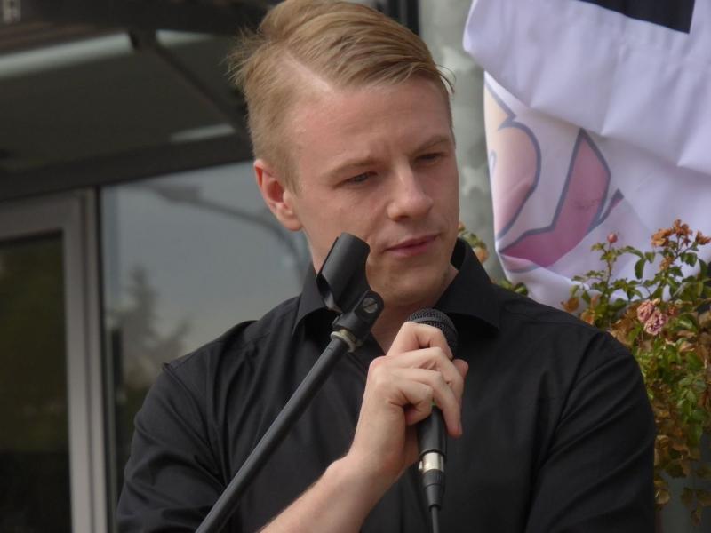 Demo Kandel 6. Oktober 2018 Lukas Hartmann