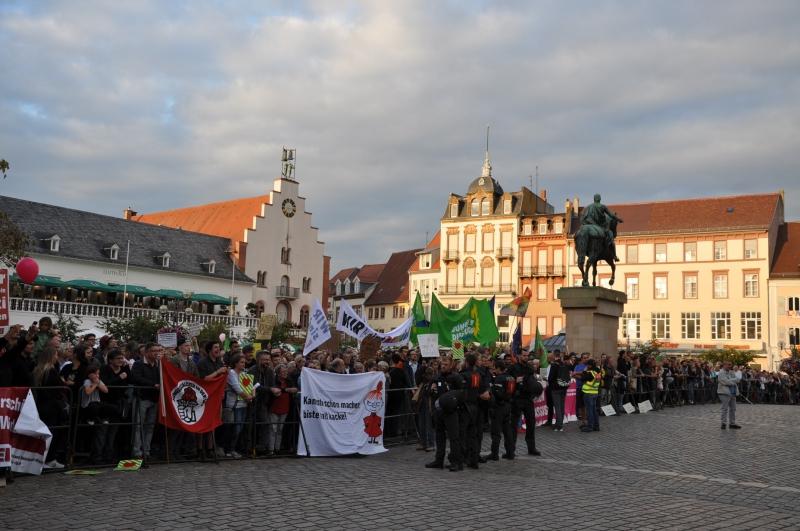 Demo Landau 7.9.2018 Gegenprotest - 3
