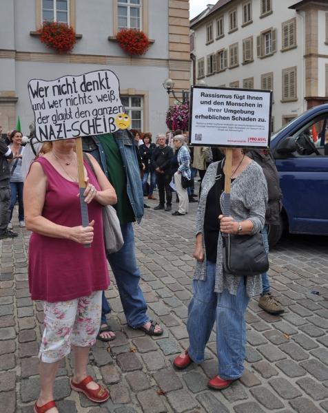 Demo Landau 7.9.2018 - Gegenprotest -5