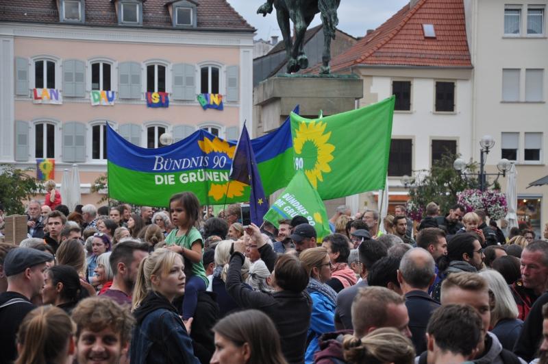 Demo Landau 7.9.2018 - Grüne