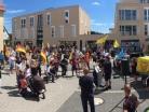 Demo Kandel Frauenbündnis 7-2020