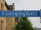Europaplatz Germersheim Schild