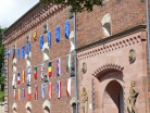 Festungsfest Germersheim 2017 - Europa-Fahnen