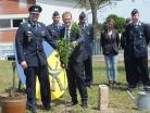 Kommandeur Maximilan Olboeter und MdB Thomas Gebhart, Eiche, Südpfalzkaserne
