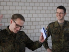 Hauptmann Dominic Vogel, Major Patrick Ehret