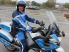 Polizei Polizist, Motorrad