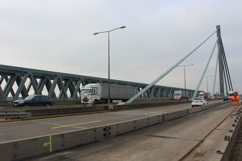 Stau Rheinbrücke Wörth Heute