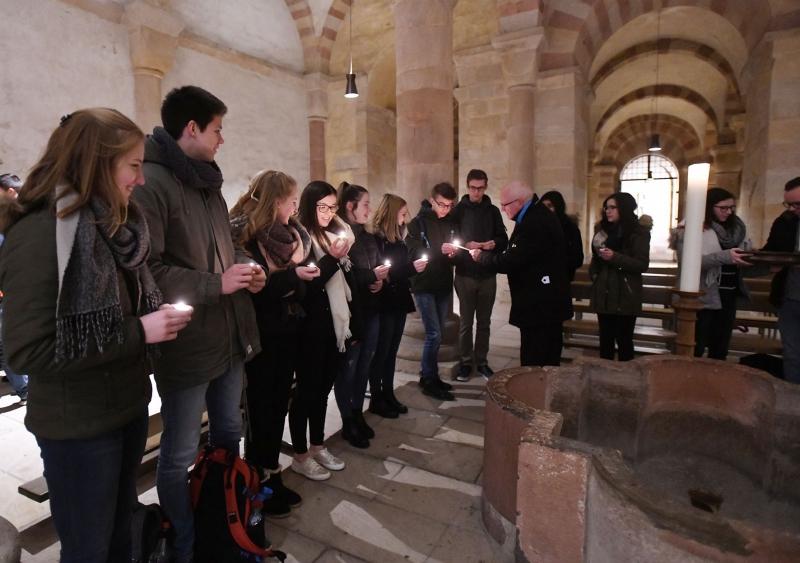 Schülertage Bistum Speyer - Taufkapelle