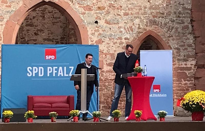 SPD Pfalztreffen Bad Dürkheim - Kloster Limbug - Hubertus Heil - 3