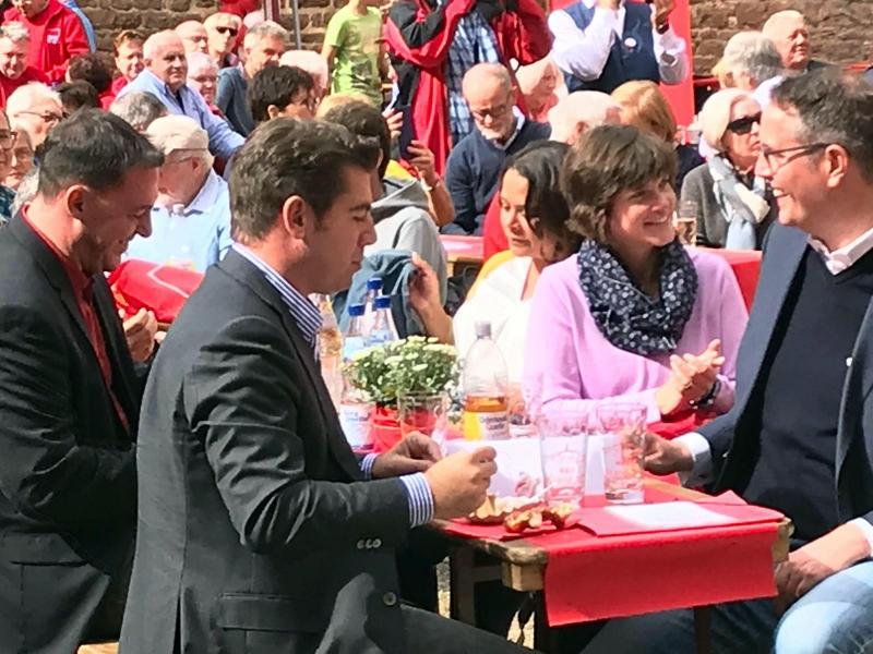 SPD Pfalztreffen Bad Dürkheim - Kloster Limbug - Hubertus Heil - 4