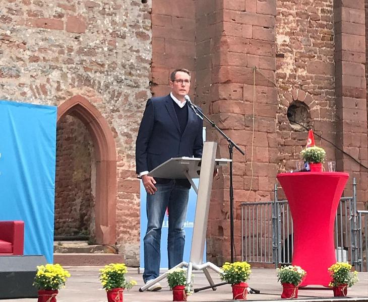 SPD Pfalztreffen Bad Dürkheim - Kloster Limbug - Hubertus Heil - Schweitzer