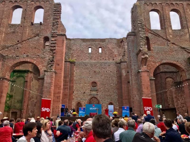 SPD Pfalztreffen Bad Dürkheim - Kloster Limbug - Hubertus Heil