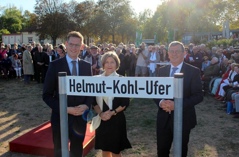 Speyer Helmut-Kohl-Ufer Maike Kohl-Richter Steiniger Eger
