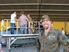 Suedpfalz-Kaserne, Bundeswehr, Tag der offenen Tuer, Oberstleutnant Maximilian Olboeter