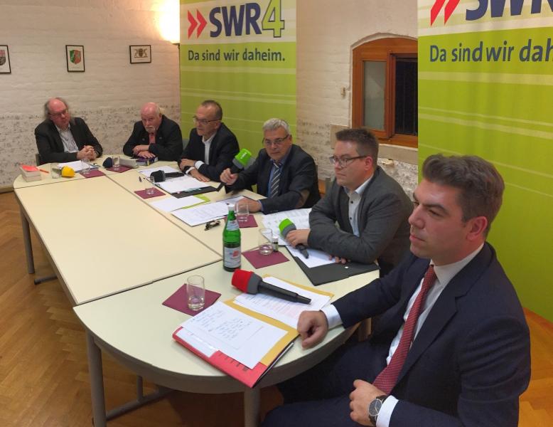 US-Depot Gefahrstofflager Germersheim SWR4 Diskussion - 2