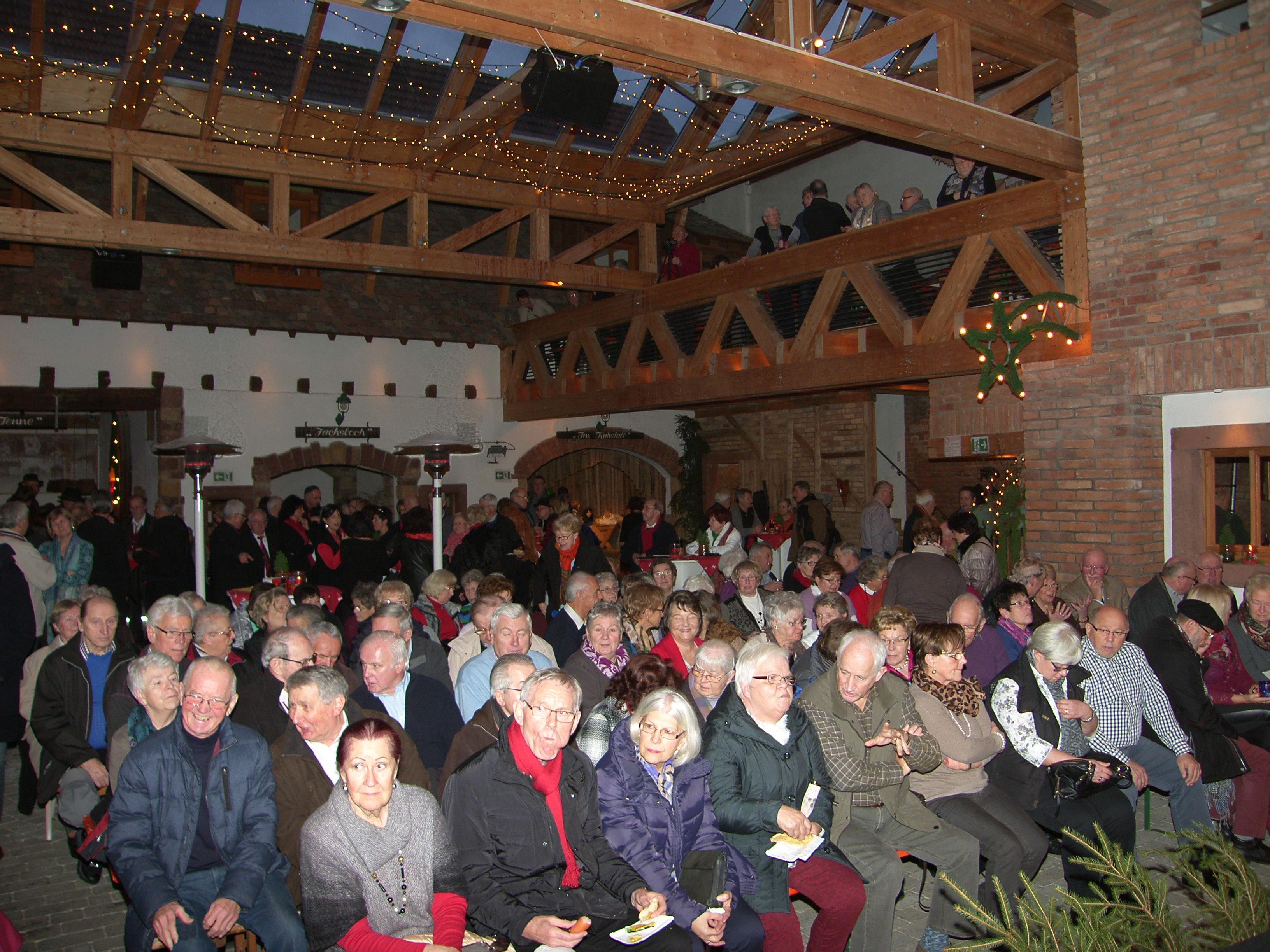 Gelungene Einstimmung Aufs Fest Weihnacht Im Bauernhof Mit Den