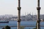Istanbul - Blick über den Bosporus