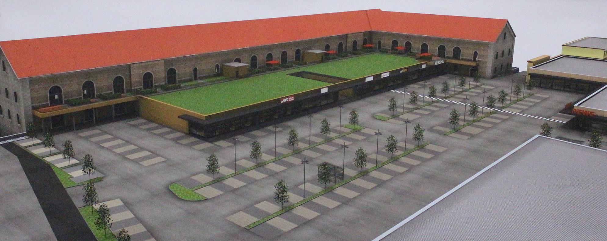 germersheim mit baggerbiss von stadtkaserne zum einkaufszentrum pfalz express. Black Bedroom Furniture Sets. Home Design Ideas