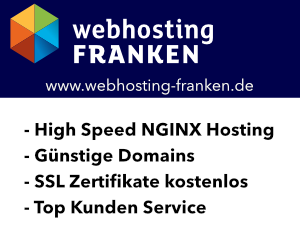 Webhosting Franken
