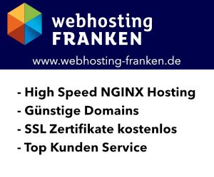 Webhosting Franken