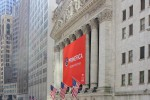 Stock Exchange in New York in der Wallstreet