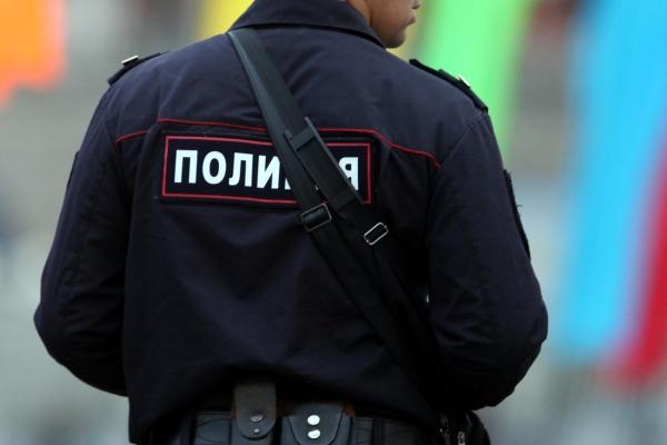 Russischer Polizist.