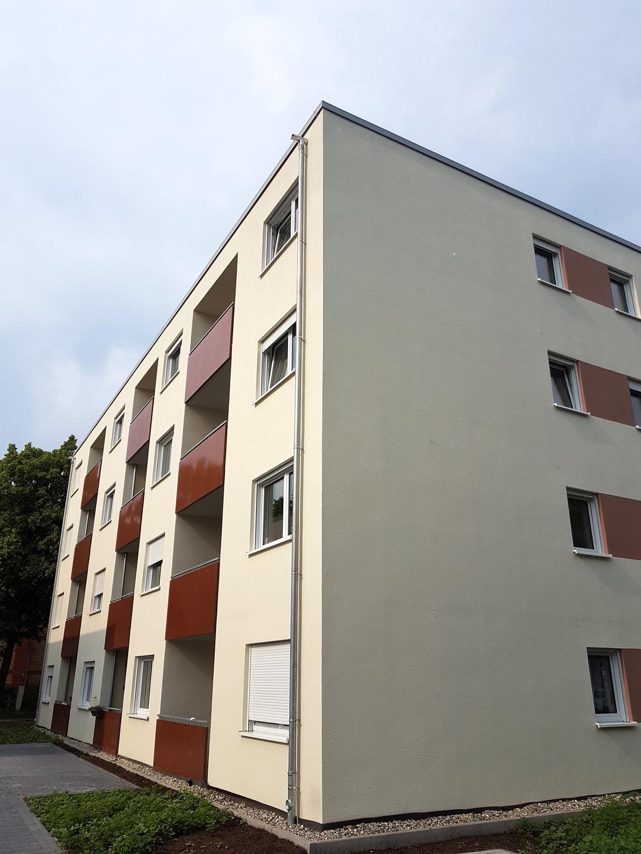 schaffung von bezahlbarem wohnraum 39 sozialwohnungen in landauer d rrenbergstra e