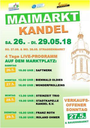 Maimarkt 2018 in Kandel