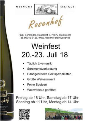 Weingut Sektgut Rosenhof Steinweiler