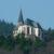 Annakapelle in Burrweiler auf dem Annaberg im Sonnenschein.