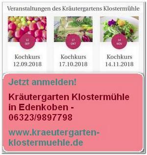 Kräutergarten-Kochkurse