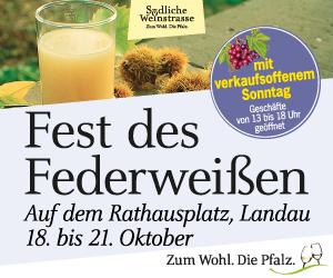 Landau Federweissenfest 2018