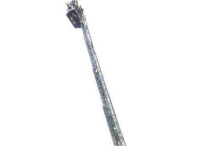 Landau Feuerwehr Holt Hilflosen Mann Mit Drehleiter Aus Wohnung