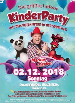 Markus Becker Rülzheim Kinderparty am 2. Dezember